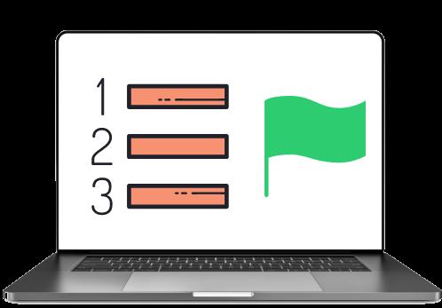 Avetta Flag Laptop