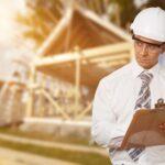 OSHA inspector visiting a job site